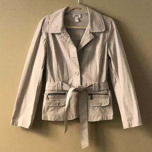 Ann Taylor Loft Safari Blazer/Jacket size 10